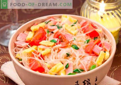 Funchoza z mięsem - najlepsze przepisy. Jak prawidłowo i smacznie gotować funchozę z mięsem w domu.
