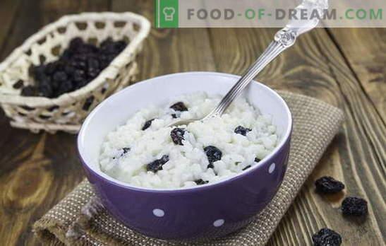 Ryż z rodzynkami to nie tylko kutya! Przepisy na pyszne dania ryżowe z rodzynkami: kotlety, płatki zbożowe, zapiekanki, ryż i desery