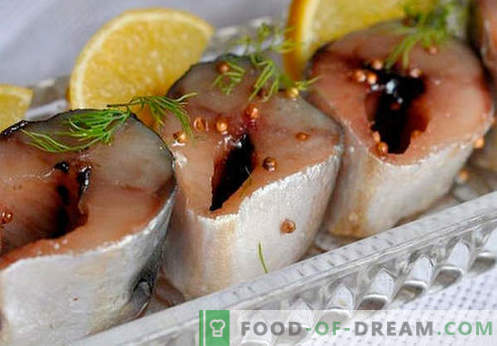 Ostra makrela - najlepsze przepisy. Jak prawidłowo i smacznie gotować ostrą makrelę.