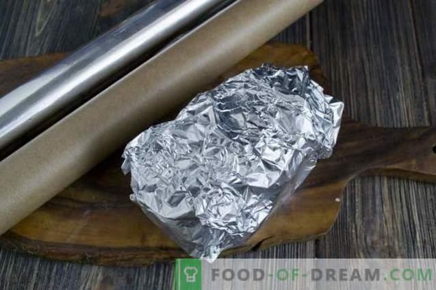Pieczony ziemniak z szynką