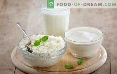 Ein nützliches Produkt ist Hüttenkäse aus Milch und Kefir zu Hause. Alle Geheimnisse des Kochens von hausgemachtem Hüttenkäse aus Milch und Kefir