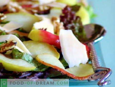 Sałatki z jabłkami to najlepsze przepisy. Jak właściwie i smacznie przygotować sałatkę z jabłkami.
