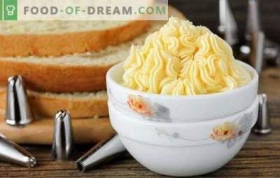 Custard na żółtkach jest pyszny! Kilka odmian budyniu z żółtkami i deserami: ciasta i musy