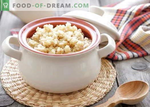 Kasza pszenna - najlepsze przepisy. Jak gotować owsiankę pszenną.