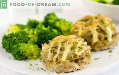 Steki z mielonego mięsa w piekarniku pod futrem: przepis krok po kroku. Alternatywa dla klopsików: steki z mięsa mielonego w piekarniku pod płaszczem serowym