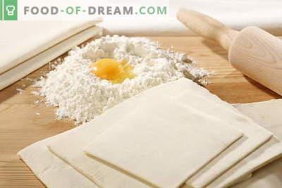 Impasto non lievitato - le migliori ricette. Come cucinare l'impasto senza lievito.