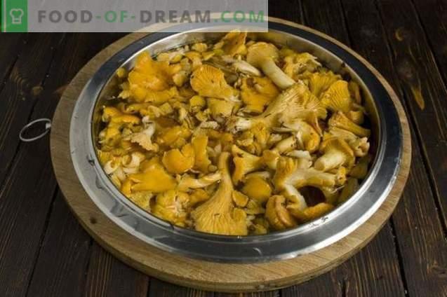 Zupa grzybowa z kurkami