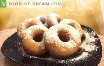 Kefyro spurgos - receptai su nuotraukomis ir daugybė gudrybių! Išsamus kefirų kepinių ruošimas pagal receptus su nuotraukomis