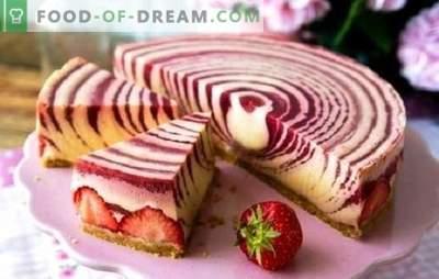 Le gâteau aux zèbres (recette étape par étape) est un dessert original sans effort. Recette pas à pas gâteau