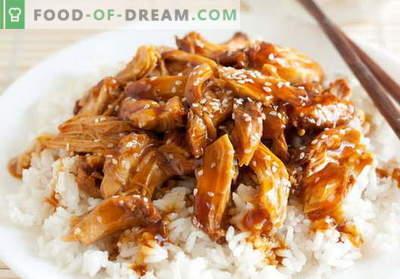 Kurczak Teriyaki - najlepsze przepisy. Jak właściwie i cudownie ugotować kurczaka teriyaki.