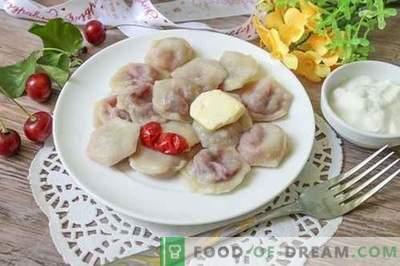 Słodkie pierogi z wiśniami - niezwykłe i apetyczne!