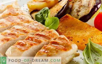 Grillowany filet z kurczaka jest podstawowy! Przepisy na pyszny filet z kurczaka na grillu w piekarniku, kuchence mikrofalowej, na patelni