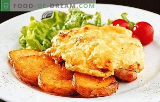 Kotlety wieprzowe z pomidorami i serem - soczyste! Jak gotować kotlety wieprzowe z pomidorami i serem