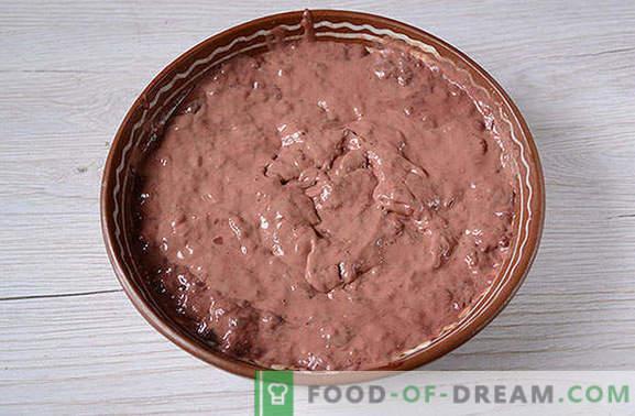 Ciasto wątrobowe: świetna przekąska, wygodna na piknik! Klasyczny placek wątrobowy: krok po kroku foto-przepis