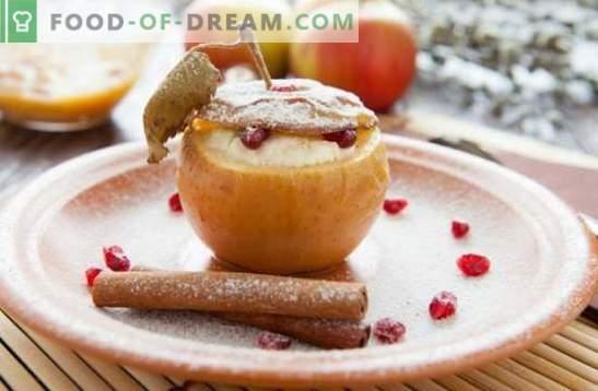 Deser jabłkowy - uczta z twoim ulubionym smakiem! Gotowanie lodów, pastylek, ciastek, sałatek i innych domowych deserów z jabłek