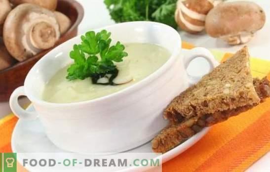 Zupa grzybowa z roztopionym serem - niezasłużenie zapomniane danie! Przepisy najlepszych zup grzybowych z topionym serem