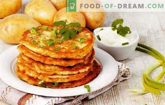 Białoruskie naleśniki - to ziemniak! Przepisy różnych białoruskich naleśników: klasyczne, z mięsem mielonym, pieczarkami, czosnkiem