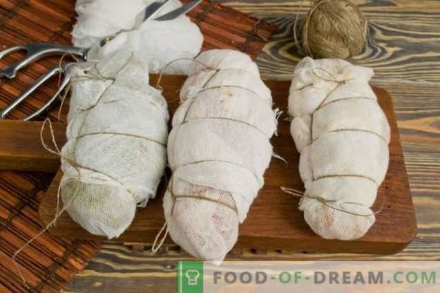 Suszona pierś z kurczaka w domu