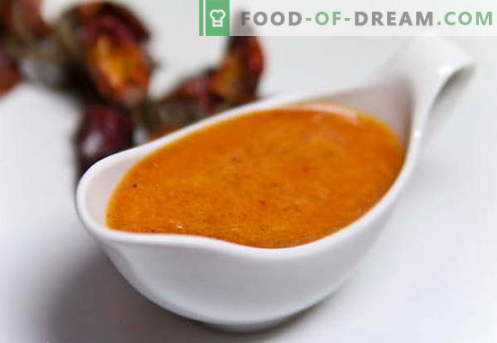 Las salsas dulces son las mejores recetas. Cómo preparar adecuadamente una salsa dulce.