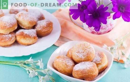 Pierniki lub pączki czekoladowe oszklone! Niezwykle prosty przysmak - bujne pączki z dowolnego ciasta