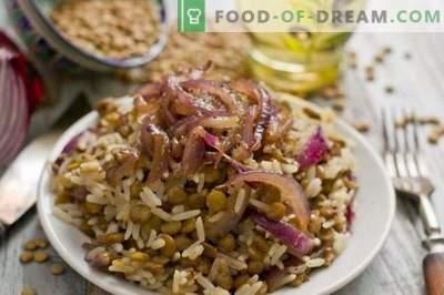 Mudjadara - ryż z soczewicą