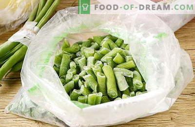 Comment congeler les haricots verts pour l'hiver