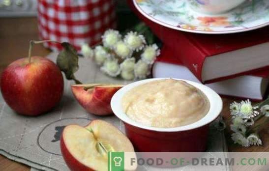 """Puree """"Sissy"""" jabłek ze skondensowanym mlekiem - dwa smaki w jednym. Sekrety przecieru jabłkowego ze skondensowanym mlekiem """"Sissy"""""""