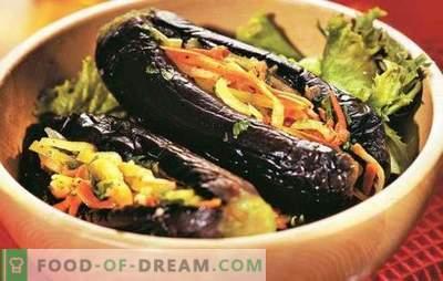 Bakłażan faszerowany warzywami na zimę - gotowa przekąska. Najlepsze przepisy na bakłażany nadziewane warzywami na zimę