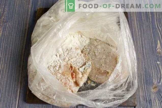 Pyszny filet z kurczaka z serem w piekarniku