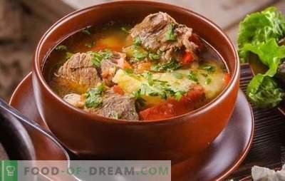 Khashlama po ormiańsku jest gościem wschodnim! Przepisy na odżywianie Khashlamy w języku ormiańskim z różnymi warzywami, mięsem, drobiem, grzybami, pigwą