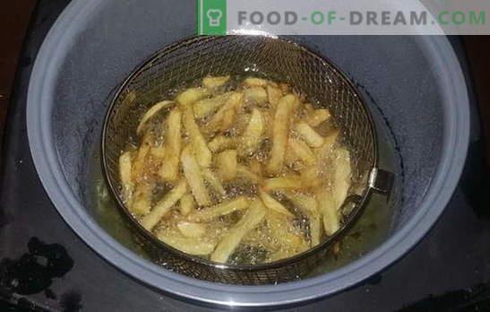 Frytki gotowane na gorąco - ulubiony fast food w domu. Przepisy na frytki w wolnej kuchence, a także sosy do tego