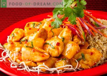 Koreański kurczak - najlepsze przepisy. Jak właściwie i pysznie ugotować koreańskiego kurczaka.