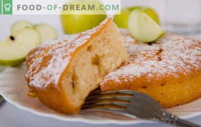 Mannik z jabłkami - ciasto z beztroskiego dzieciństwa! Przepisy na mannicę z jabłkami: na jogurt, śmietanę, mleko, wodę, twaróg