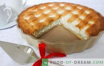 Ciasto Sandy z twarogiem to zdrowy deser. Przepisy na ciastko z jagodami, jabłkami, kakao, bananami