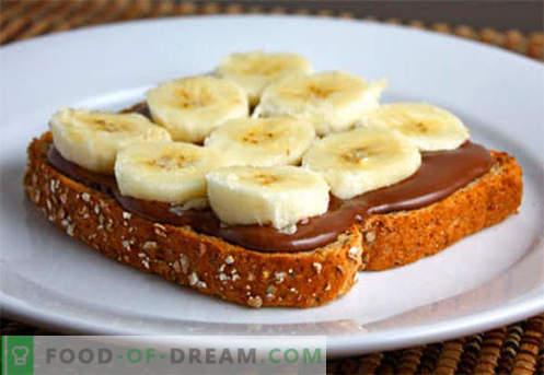 Kiired ja lihtsad võileivad on parimad retseptid. Kuidas kiiresti ja maitsvaid lihtsaid võileibu kiirustada.