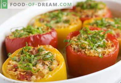 Papryka faszerowana mięsem to najlepsze przepisy. Jak właściwie i gotować faszerowane papryki.
