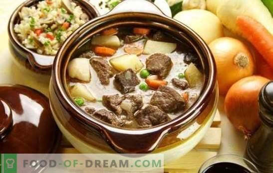 Baranina w garnku to dobre mięso dla prawdziwych smakoszy. Jak gotować jagnięcinę w garnku w piekarniku na różne sposoby