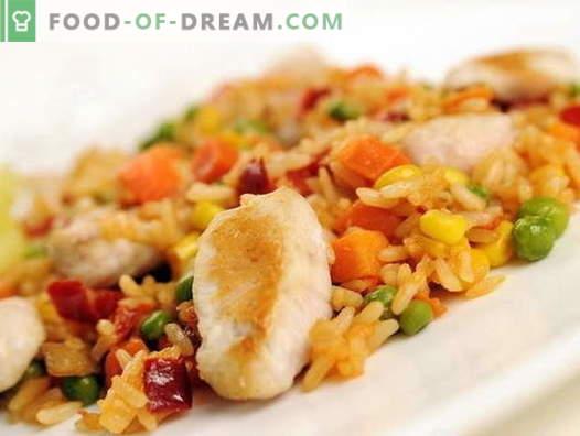 Hühnerpilaw in einem langsamen Kocher - die besten Rezepte. Wie man richtig und lecker Hühnerpilaw in einem langsamen Kocher kocht.