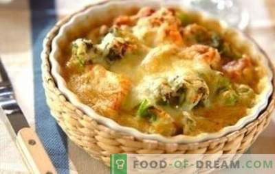 Kurczak z kalafiorem w piekarniku - świetnie! Przepisy na zdrowe i smaczne dania z kurczaka i kalafiora w piekarniku