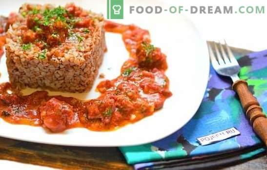 Gryka z gulaszem w wolnej kuchence - obiad i kolacja bez gotowania na parze! Proste sposoby i najlepsze przepisy gryki z gulaszem w wolnej kuchence