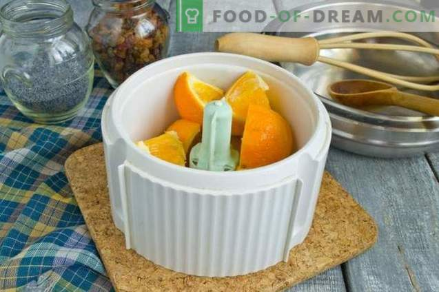 Pomarańczowa manna na kefirie
