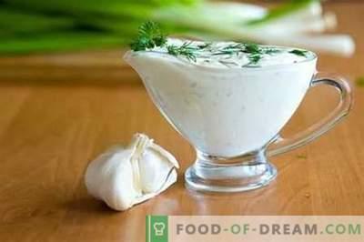 Biały sos - najlepsze przepisy. Jak prawidłowo i smacznie przygotować biały sos.