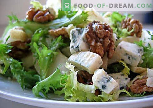 Sałatki wegetariańskie są najlepszymi przepisami. Jak właściwie i smacznie gotować wegetariańskie sałatki.