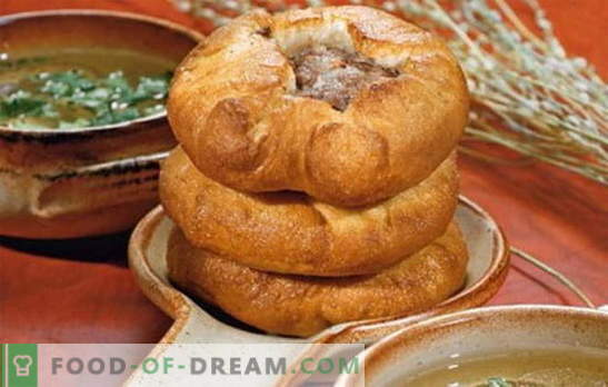 Drożdżowy belyashi - prawdziwie tatarskie danie? Przepisy na pachnące i soczyste białka na drożdżach z różnymi nadzieniami
