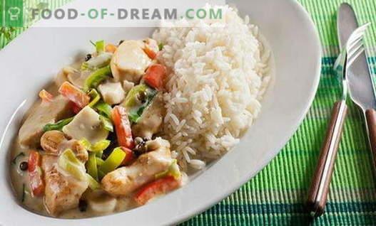 Kurczak z warzywami - najlepsze przepisy. Jak prawidłowo i smacznie gotować kurczaka z warzywami