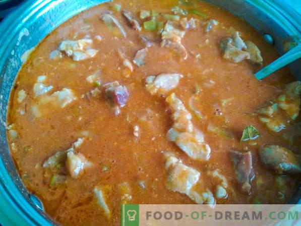 Gulasz to zupa: dwie prawidłowe receptury gulaszu i historia potraw