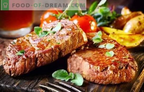 Grillowany stek wieprzowy to mięso! Gotowanie smażonych, aromatycznych steków wieprzowych na grillu na różne sposoby
