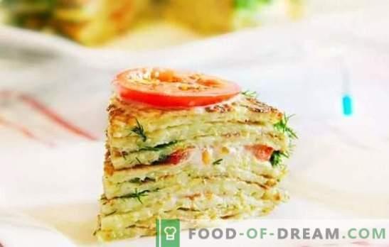 Ciasto z cukinią: szybkie i smaczne. Szybkie przepisy na pyszne ciasta z cukinii z warzywami, serem, pieczarkami, mięsem