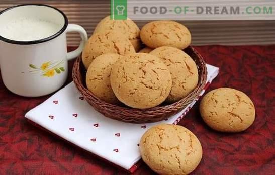 Ciasteczka owsiane są użyteczną przysmakiem domowej roboty. Przepisy na ciasteczka owsiane z miodem, imbirem, cynamonem, skórką pomarańczową