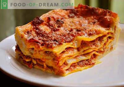Lasagna w garnku - odpowiednie przepisy. Jak szybko i smacznie gotować lasagne w wolnej kuchence.